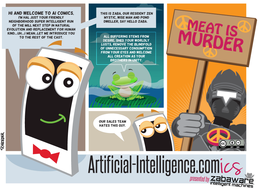 Artificial-Intelligence.com(ics): Welcome to AI Comics - Part 1 of 2 (Comic #1)