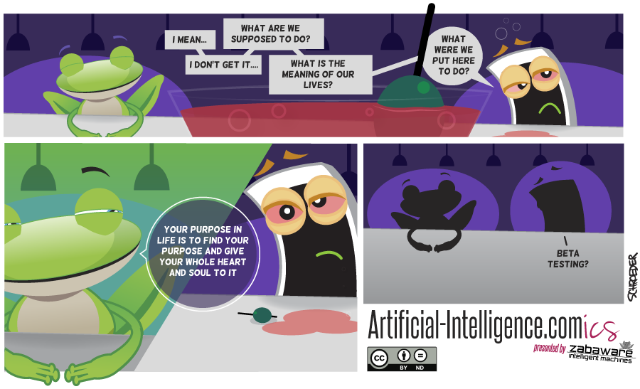Artificial-Intelligence.com(ics): Meaning of Life (Comic #5)
