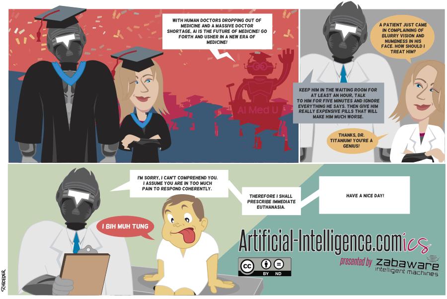 Artificial-Intelligence.com(ics): The Future of Medicine (Comic #8)
