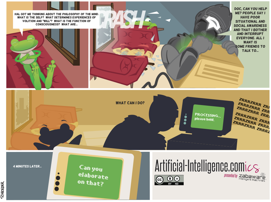 Artificial-Intelligence.com(ics): Social Awareness (Comic #10)