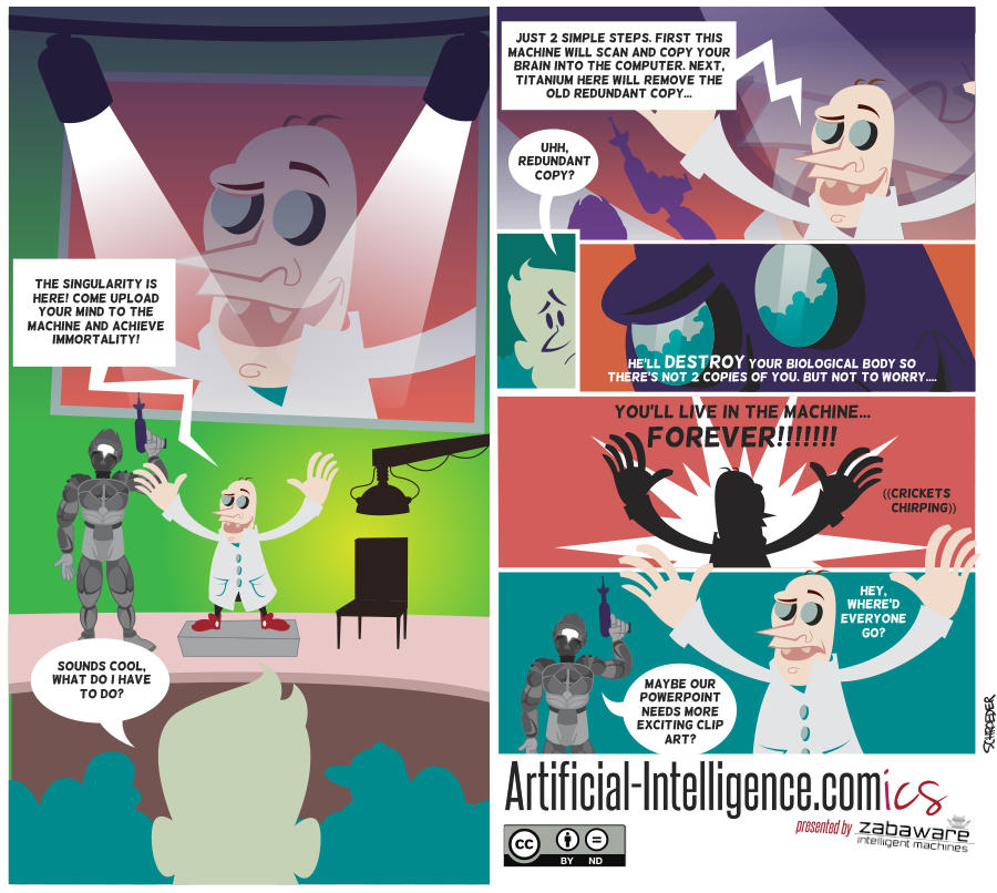 Artificial-Intelligence.com(ics): Transhumanist Mind Uploads (Comic #15)