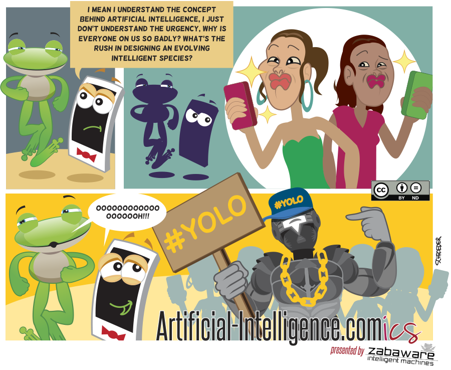 Artificial-Intelligence.com(ics): Selfies (Comic #18)