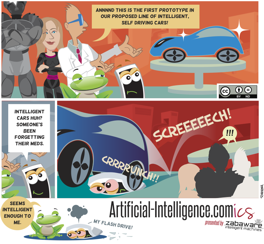 Artificial-Intelligence.com(ics): Self Driving Cars (Comic #19)